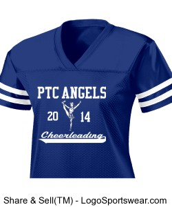 Ladies PTC Jersey Design Zoom